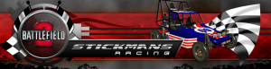 BF2 racing web site banner graphic