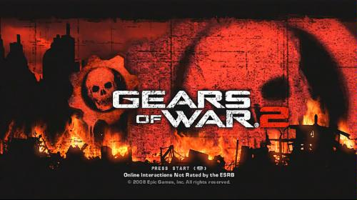 Gears of War 2 Game of the Year Xbox 360